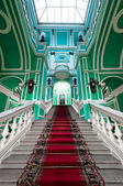 Stairway in russian palace — Stock Photo