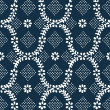 Old blue vintage texture — Stock Photo