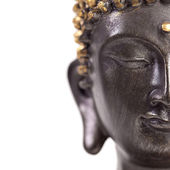 Buddha Buddhismus zen gold Statue Gott Feng-Shui Asien — Stock Photo