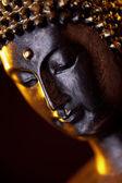 Buddha Buddhismus zen orchidee Statue Gott Feng-Shui Asien — Stock Photo
