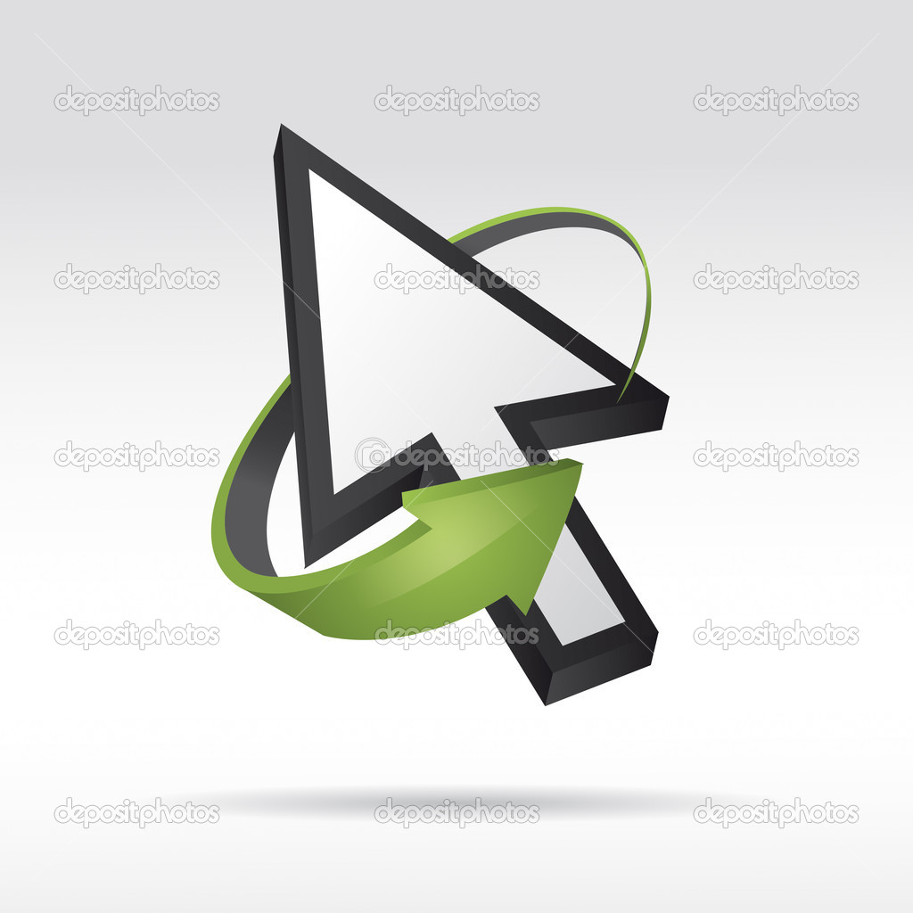 depositphotos 8737827 3D Vector Mouse cursor with arrow Big teen butts, teen models non nude, cock tease pussy worship, ...