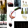 Royalty-Free Stock Photo: Wine Collage