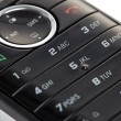 Black telephone keypad - Stock Photo