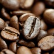 Brown Coffee Beans pile - Stock Photo