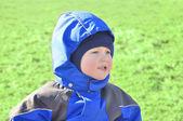 Bliska portret ładny dziecko — Zdjęcie stockowe