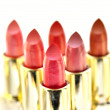 Beutiful set of  lipsticks - Stock Photo
