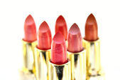 Beutiful set of lipsticks — Stock Photo