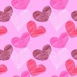 Seamless heart background — Stock Photo #8307039