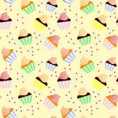 Słodki tło z posypką — Zdjęcie stockowe