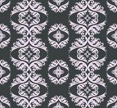 Seamless damask pattern background — Stock Photo