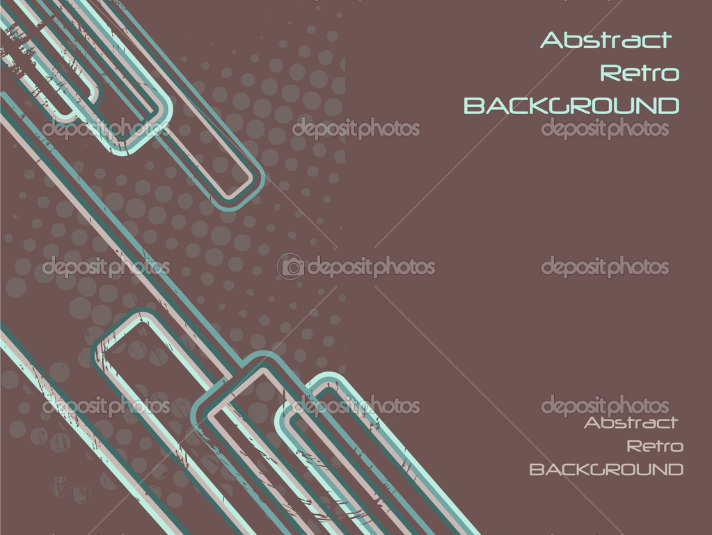Grungy abstract retro background with text area — Stock Photo #9161106