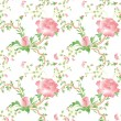 Stock Photo: Provance flower seamless pattern backgorund