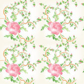 Roses flower seamless pattern backgorund — Stock Photo