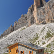 Lavaredo chalet in Dolomites Mountains — Stock Photo #8483785