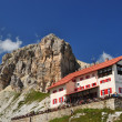 Locatelli chalet - Stock Photo