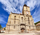 The Black Church in Brasov — Stock Photo