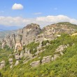 Meteora place Panorama,Greece - Foto Stock