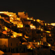 Oia at night, Santorini, Greece — Stock Photo