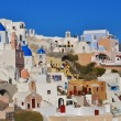 Oivillage in evening, Santorini, Greece — Stock Photo #8535379