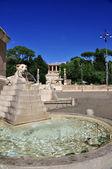 Piazza del Popolo - 's Square — Stock Photo