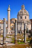Trajan's Column (Colonna Traiana) — Fotografia Stock