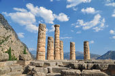 The temple of Apollo at Delphi, Greece — Stock Photo