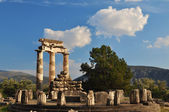 The Tholos at the sanctuary of Athena Pronaia — Stock Photo