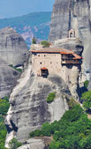 Monastery Agios Nicolaos, Meteora, Greece — Stock Photo