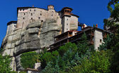 Monastery Rousannou at Meteora, Greece — 图库照片