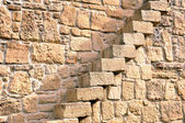 Stairs in Stone Wall — Stock Photo