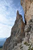 Dolomites path — Foto de Stock