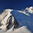 The highest mountain in the Alps, Cosmique route — Stock Photo #8867626