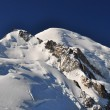 Mont Blanc Massif View — 图库照片