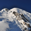 Stock Photo: Mont Blanc Massif View