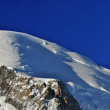 Panorama view of Mont Blanc Summit — Stock Photo #8867805