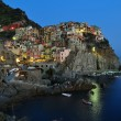 Royalty-Free Stock Photo: Manarola before sunset