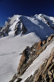 Cosmique cesta na vrchol mont blanc — Stock fotografie