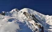 Vista do maciço de mont blanc — Foto Stock