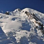 Mont blanc massief panoramisch uitzicht — Stockfoto