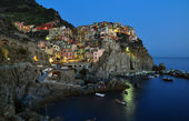 Manarola before sunset — Stock Photo