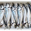 Fresh cleaned fishes — Stock Photo