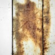 Old rusty metal panel background - Stock Photo