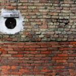 mur ceglany — Zdjęcie stockowe