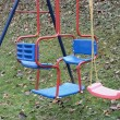 Childrens swing — Stock Photo