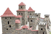 Castle with towers — Stock Photo