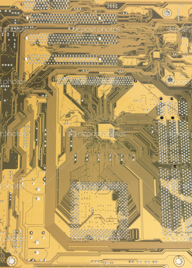 Computer circuit board — Stock Photo #8763640