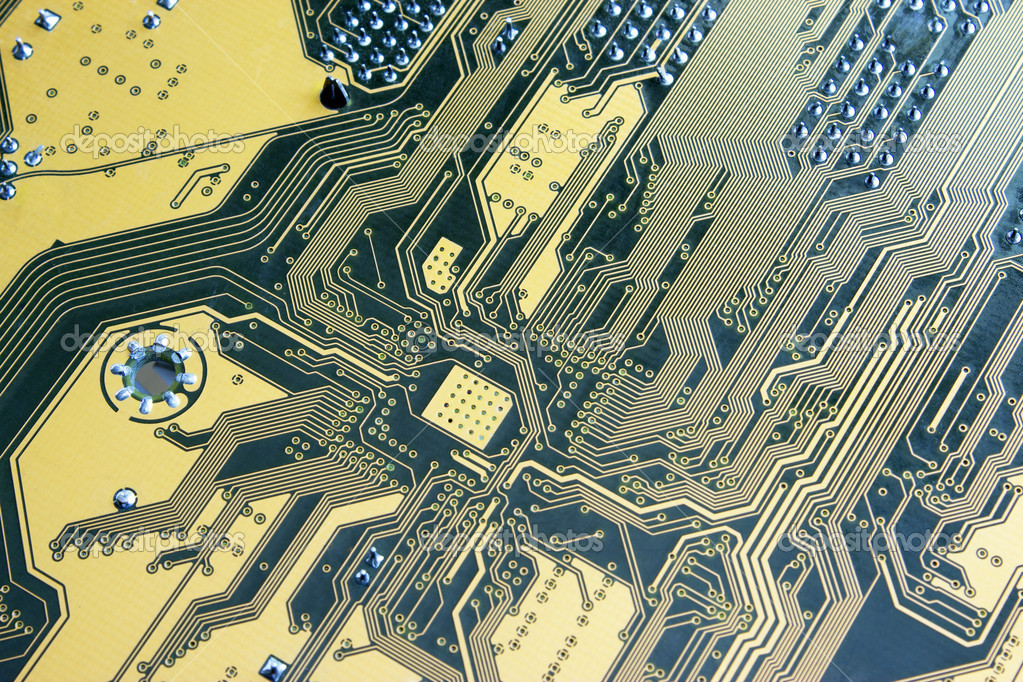 Computer circuit board — Stock Photo #8780433