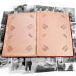 Royalty-Free Stock Photo: Old photo album 	old photo album