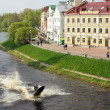 Постер, плакат: Gold Quay in Pskov