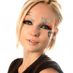 Fantasy make-up — Stock Photo #8911396